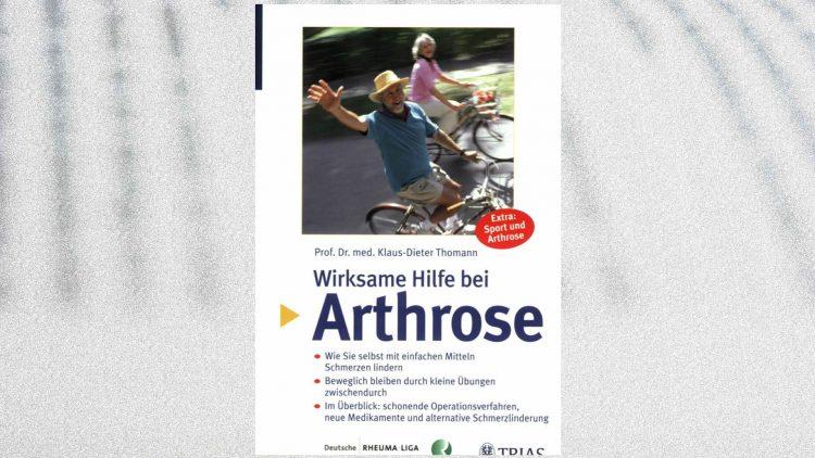Buchcover: Wirksame Hilfe bei Arthrose