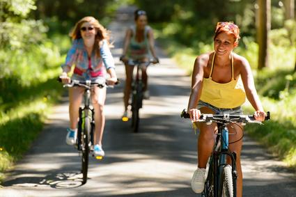 Pedale treten, Rad fahren