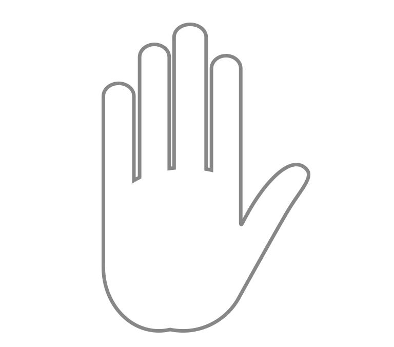 Fingermittel- und Fingerendgelenken