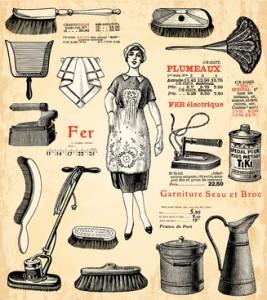 La femme de ménage© lynea