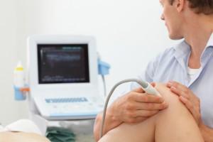 Ultraschall im Knie